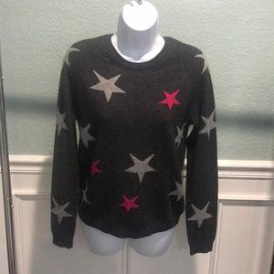 Philosophy 100% cashmere sweater stars S